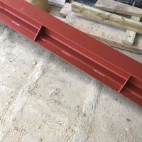 Extension steel support02