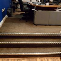 Steel Staircase with Aluminium Coating and Stainless Steel Railing01