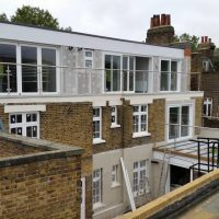 Clapham on top of Waitrose a restoration took place in the flat06