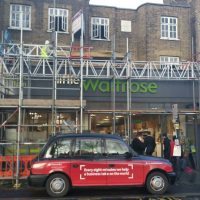 Clapham on top of Waitrose a restoration took place in the flat07
