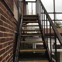 Constructed a new stairscase in Oxford for Buildbase01