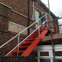 Constructed a new stairscase in Oxford for Buildbase08