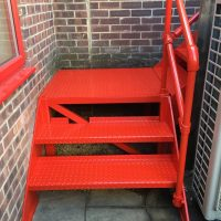 Constructed a new stairscase in Oxford for Buildbase11