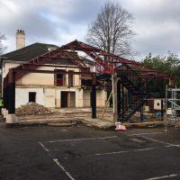 Demolition of existing Frame01