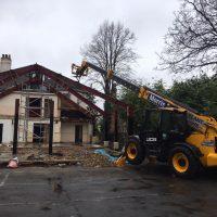 Demolition of existing Frame04