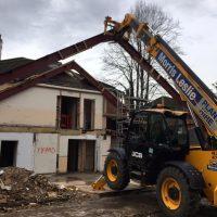 Demolition of existing Frame07