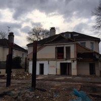 Demolition of existing Frame08