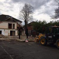 Demolition of existing Frame10