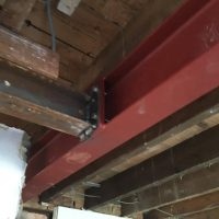 Extension steel support in Oxford04