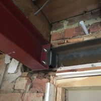 Extension steel support in Oxford05