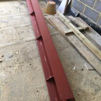 Extension steel support01